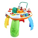 BELLEMID Toddler Learning Table,Learn and Groove Musical Table,for Babies Over 10 Months Old and Goood
