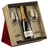 Bollinger Special Cuvee Brut Champagne in Gift Set with 2 Flutes NV