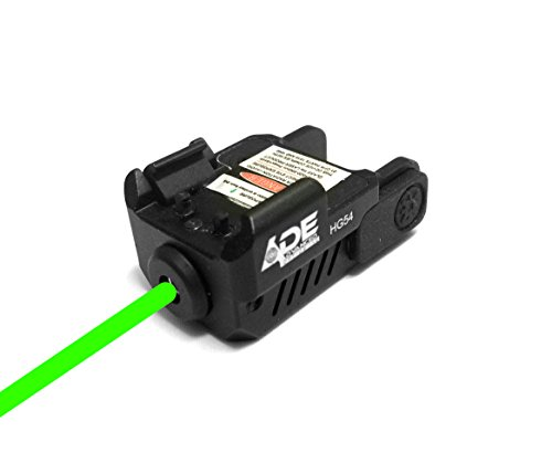 Ade Advanced Optics HG54G Strobe Laser Sight for Pistol Handgun, Green