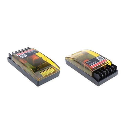 FLAMEER 2 Stuks 2-Weg Frequentie Divider Luidspreker Splitter Audio Hi-Fi Crossover Filter, Impedantie: 2/4 / 6Ω