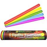 Glowhouse confezione da 10 Bastoncini luminosi verdi,/stick luminosi di emergenza di 15,2 cm durata oltre 12/ore