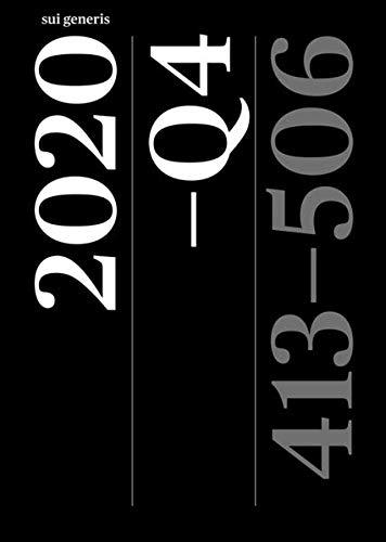 Artikelsammlung 2020–Q4: Seiten 413–506