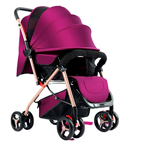 Best Prices! ZWW Strollers Lightweight Baby Stroller Baby Gift to Fold for 0-3 Years Old Foldable Po...