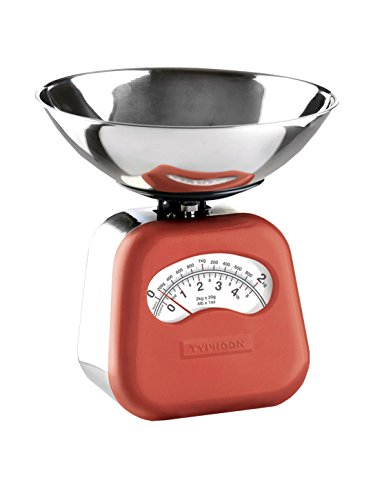 Typhoon Novo Red Stainless Steel Mechanical Scale