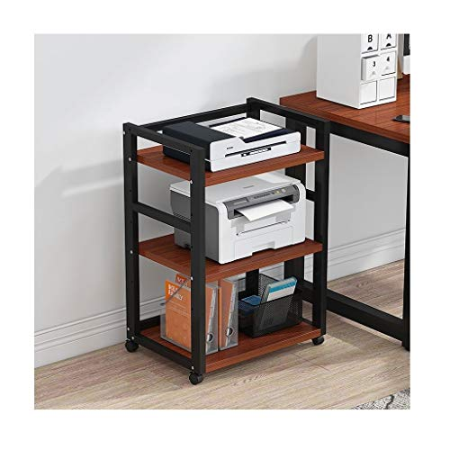 Oficina Soportes para Impresoras Impresora de bastidores ajustables Oficina Lugar de almacenamiento en rack rack de copia de múltiples capas de suelo de almacenamiento en rack polivalente anfitrión ra