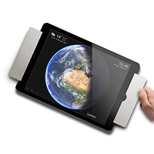 smart things solutions s20 s sDock Air Silber - Abschließbare, um 90° drehbare Wandhalterung, Ladestation, Fotorahmen für iPad Air 1+2, iPad Pro 9,7