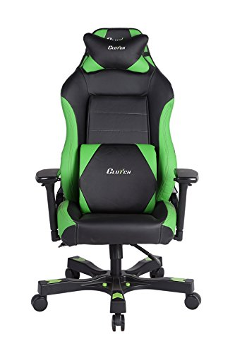 CLUTCH CHAIRZ Shift Series Alpha Mid-Sized Gaming Chair (Green) chair gaming green