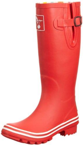 Evercreatures Plain, Damen Gummistiefel , Rot - rot - Größe: 37 (4 UK)