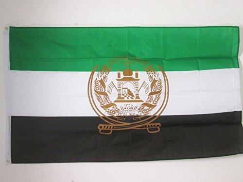 AZ FLAG Flagge Afghanistan ALT 2001-2002 150x90cm - AFGHANISCHE Fahne 90 x 150 cm - flaggen Top Qualität