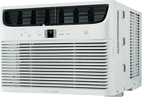 Frigidaire FHWW153WBE Smart Window Air Conditioner with Wi-Fi Control, White