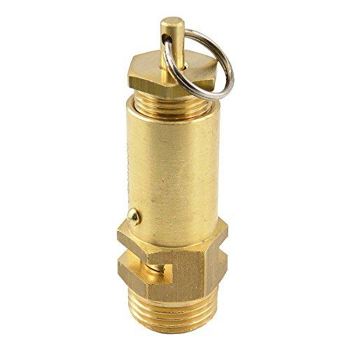 Sicherheitsventile einstellbar, nicht bauteilgeprüft, 1-16 bar Druckluft (G 1/4