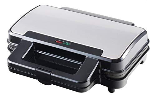 Team Kalorik TKG SM 3007 XXL Sandwichtoaster für alle Toastgrößen geeignet | Deep Fill - extra tiefe Platten für mehr Belag, 900, Schwarz