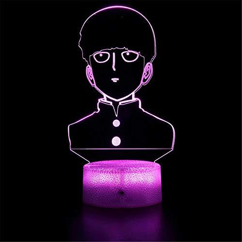 Luces 3D para niños, un sacador de luz nocturna, lámpara de ilusión de consola con táctil y control remoto lámpara de escritorio para regalos de Navidad dormitorio niños juguetes