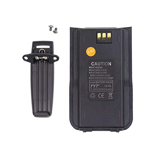 ANYSECU 7.4V 2000MAh Battery Pack for TYT MD-380 DMR Digital Two Way Radio