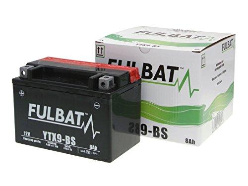 Fulbat - Batterie quad YTX9-BS étanche 12V / 8Ah