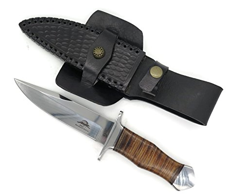 "DKC Knives DKC-UL-114-L Yuma Fixed Blade Hunting Loveless Style Knife Custom Hand Made 440c Steel 10.5"" Long 5.75"""" Blade 9.7 oz Ultraline Series"