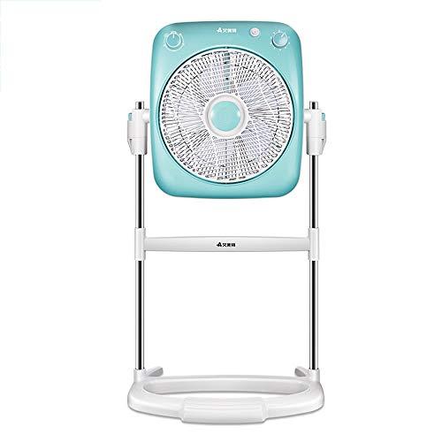 N/Z Equipo de Vida Piso del Ventilador Mesa silenciosa eléctrica para el hogar Sacudiendo la Cabeza Tipo de pie Estudiante Refrigerador rotatorio mecánico