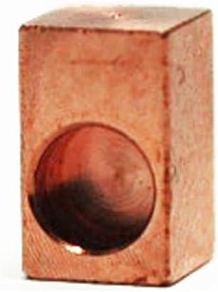ブロンズ製(ベルブラス) FRT用 インサートブロック フロイドローズ等に 上品で煌びやかなサウンド CT-66-6P (1個)
