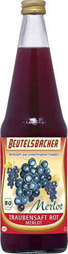 Beutelsbacher Bio Traubensaft rot Merlot (6 x 700 ml)