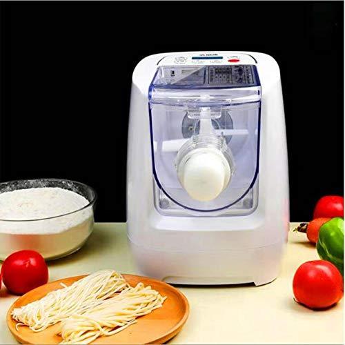 S SMAUTOP Macchina per pasta elettrica, 260w 13 stampi Macchina per noodle intelligente Macchina per pasta e ramen Noodle con schermo LCD, per spaghetti Fettuccine Penne Maccheroni o gnocchi