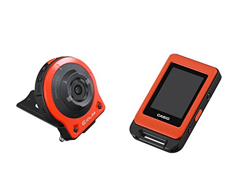 "CASIO EX-FR10 EXILIM Life Style Digital Separable Action Camera 14.1 MP, 2"" LCD, 1080p - Orange"