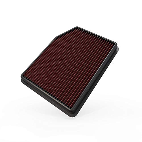 K&N Engine Air Filter: High Performance, Premium, Washable, Replacement Filter: Fits 2019 Chevy/GMC Truck (Silverado 1500, Sierra 1500), 33-5083