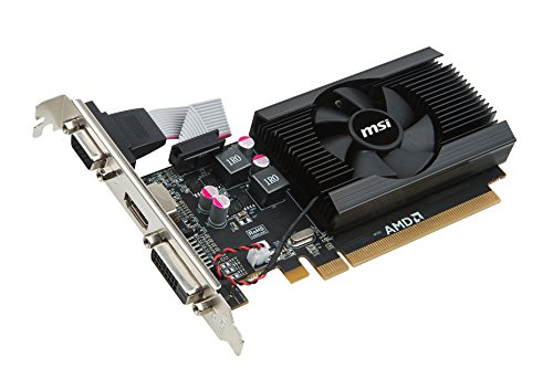 MSI R7 240 2GD3 64b LP Carte Graphique AMD Radeon R7 600 MHz PCI Express