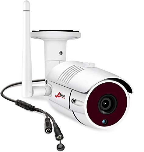 ANRAN 5MP bala inalámbrica cámara de seguridad al aire libre para el sistema de vigilancia CCTV de la oficina del hogar, compatible ANRAN 5MP sistema de cámara de seguridad