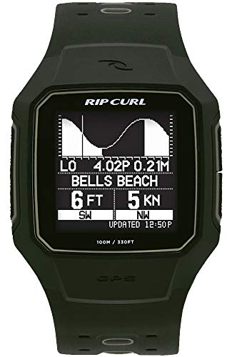 RIP CURL リップカール 腕時計 SearchGPS2 サーチGPS2 / Military ミリタリー タイドグラフ付きサーフウォッチ(MTR(ミリタリー),-)