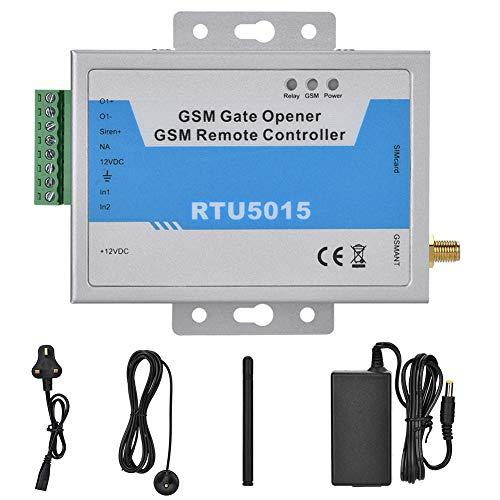 due sensori interni digitali, Apriporta per cancello GSM con allarme di controllo remoto SMS, 99 numeri di telefono autorizzati, App supportata 110-240V(EU)
