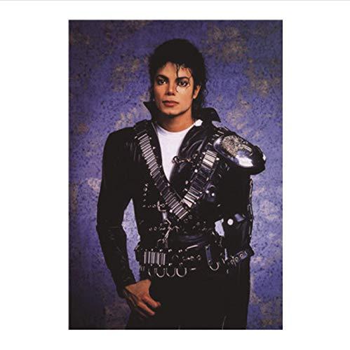 Fymm丶shop Michael Jackson Cartel Carteles Arte Cartel De La Pared Cartel del Arte De La Pared Sala De Estar Decoración del Arte Pintura Pintura De La Lona Pintura Sin Marco 40X50 Cm (X: 1133)