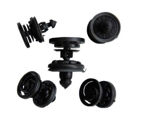 myshopx C23 Rivets en plastique, clips de fixation pour barre anti-encastrement, garniture de portière, pare-chocs, passage de roues, compartiment moteur