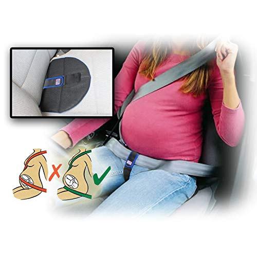 Aveanit - Cinturón de embarazo para embarazo, soporte avanzado, para conducción, vientre, banda para seguridad del bebé