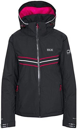 Trespass Damen Hildy Wasserdichte DLX Skijacke Jacke, Schwarz (Black), XL