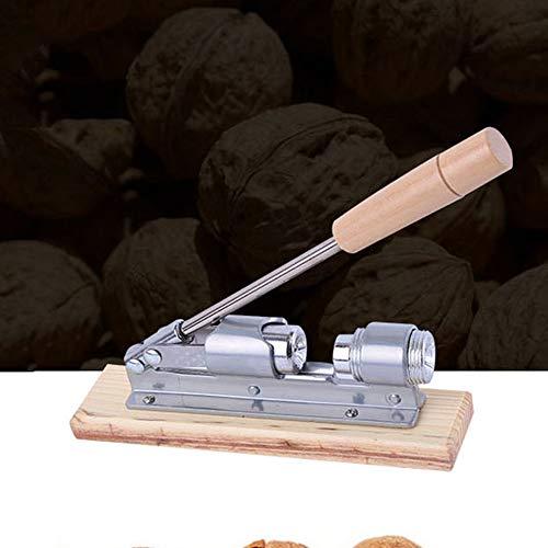 QWERTOUR Sheller Walnut Cracker Macadamia-Nuss-Treiber Bit Bolt Mechanische Küchenhelfer Walnuss Pecan Bruch Nussknacker Nuss-Schnell-Öffner