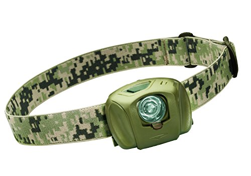 Princeton Tec Eos Tactical Headband Flashlight LED olives – Fresnel (Headband Flashlight, olive, 1 Lamp (s), LED, 45 lm, 56 m)