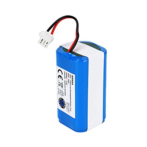 14.4v 2600mAh Rechargeable Battery Compatible with Deebot N79S, RoboVac 11, RoboVac 11S, RoboVac 30, RoboVac 15C,RoboVac 12, RoboVac 35C