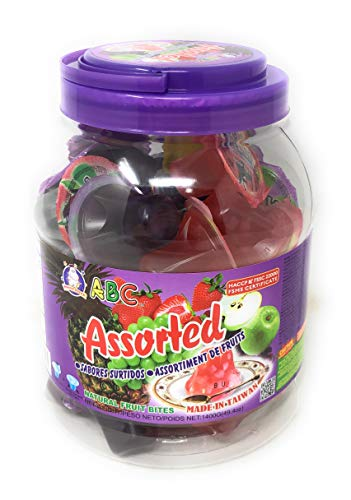 ABC Assorted Fruit Jelly, 1400g (49.4oz)