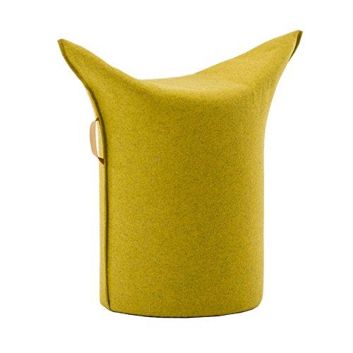 Werther – Die Möbelmanufaktur Zipfel Hocker 62 x 36 cm, h 60 cm - gelb