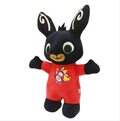 SHOP YJX Juguetes de peluche lindo conejo Bing 25 cm, muñeca de peluche suave de peluche, juguetes para niños y niñas