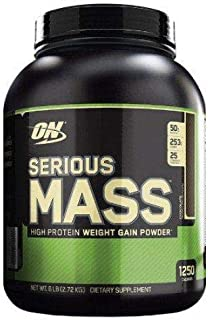 Optimum Serious Mass CHOCOLATE 6LB (4/CS)
