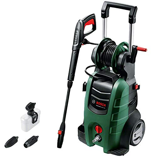 Bosch Home and Garden 06008A7D00 AdvancedAquatak 140 Idropulitrice ad Alta Pressione, in Scatola di Cartone, 2100 W, Blu