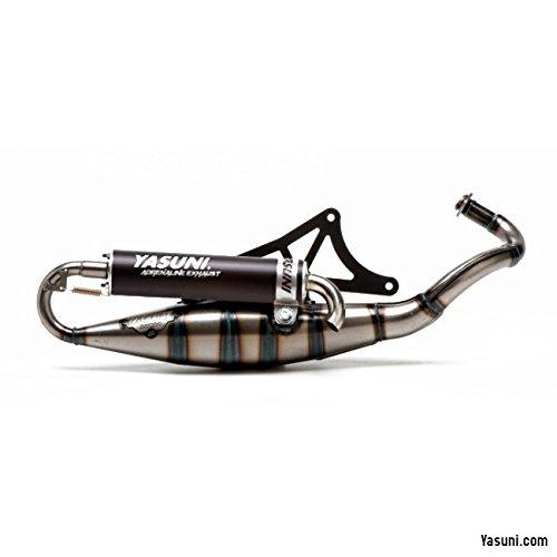 Tubo de escape Yasuni Scooter R negro – NRG 50 Power DT AC