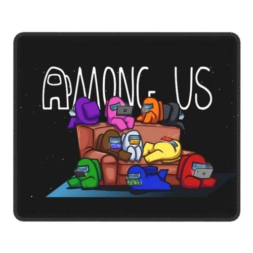 Among Us Mouse Pad Non-Slip Waterproof Gaming Computer Mousepad 9.8x11 Inch