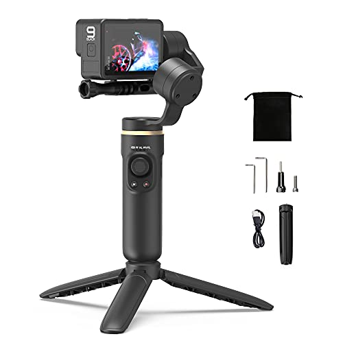 Gimbal Stabilizzatore for Gopro Hero 9, 8, 7, 6, 5, OSMO Action, Insta360 one r e Altre Action Cam-INKEE Falcon