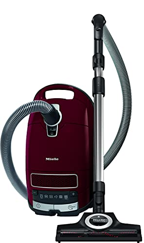 Miele Complete C3 Cat & Dog Powerline Aspirapolvere, 890 watts, 4.5 litri, 76 decibels, Rosso Rubino