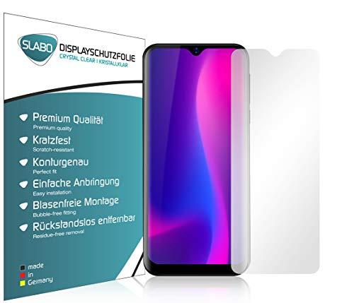 Slabo 4 x Bildschirmschutzfolie für Blackview A60 | A60 Pro (2019) Bildschirmfolie Schutzfolie Folie Zubehör Crystal Clear KLAR