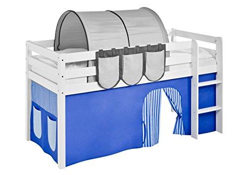 Lilokids Vorhang Blau - für Hochbett, Spielbett und Etagenbett