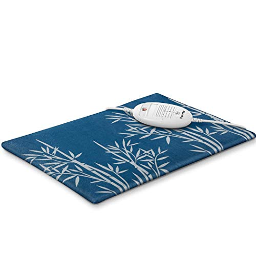 Beurer HK35 Heat pad for Pain Relief and Relaxation | Electronically Regulated Temperature Settings for controllable Warmth | Heating pad with Rapid Warm-up Function | Ease Aches and Pains