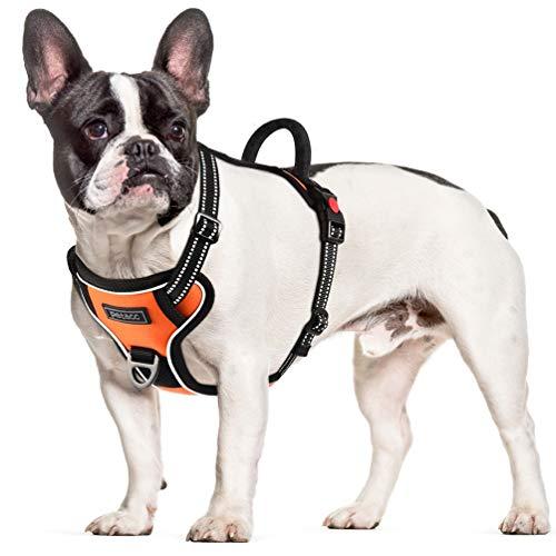(Kupon Diskon 60%) Harness Rompi Reflektif Anjing yang Dapat Disesuaikan Tanpa Tarik $ 9.20